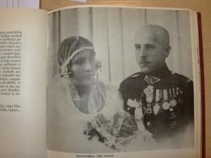 Elena Smetonaitė ir Stasys Raštikis vestuvių dieną 1929. M.Raštikytės asm. archyvo nuotr.