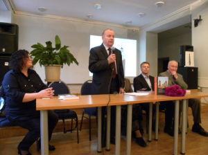 Knygos autorius gydytojas Vytautas Razukas