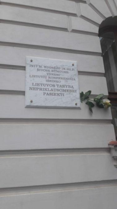 Vilniuje visuomenininkai paminėjo Vilniaus konferencijos jubiliejų