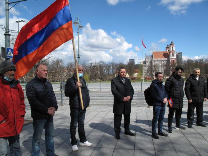 S. Daubaraitė: armėnų tautos genocido atminimui